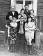 """Кіруючы склад газеты """"Савецкае Палессе"""" з работнікамі тыпаграфіі. 1978 год"""
