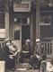 """На ганку рэдакцыі газеты """"Сялянская праўда"""" (злева-направа): І. Кірэйчык, С. Дзерышаў, І. Лісецкі, В. Праскураў. 1950-я гады"""